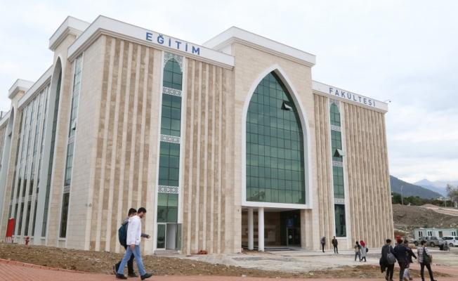 Eğitim Fakültesi  binası hizmete girdi