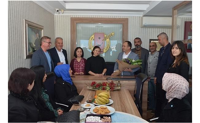 İYİ Parti'den AGC Başkanı Gaye Coşkun'a ziyaret