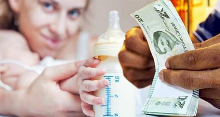 Alanya'da 1 milyon 831 bin 700 TL'lik 'doğum parası' dağıtıldı