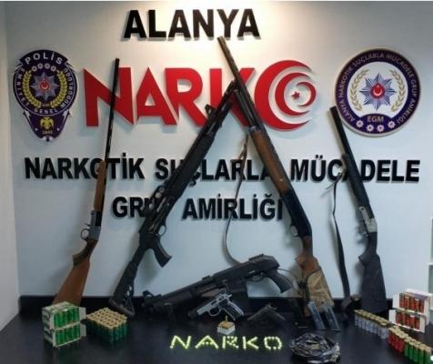 Alanya'da azılı suçlu başsavcılığın itirazı üzerine tutuklandı