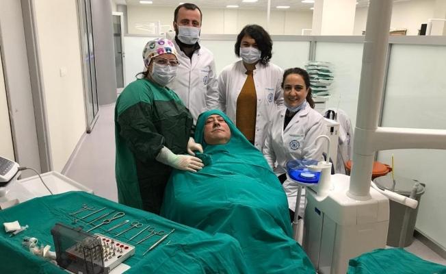 ALKÜ 'Diş'te  başarılı operasyon