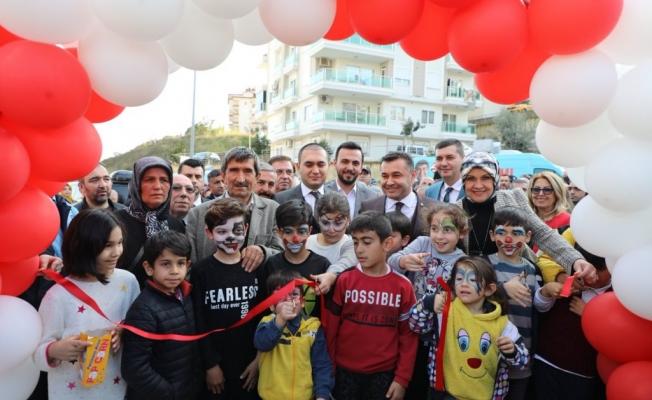 Alanya'da Şehit Fatih Uysal parkı açıldı