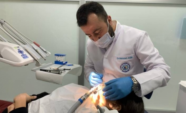 ALKÜ'de ortodonti tedavilere başlandı