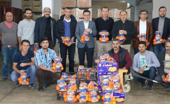 Uslu'dan portakal üreticilerine müjde