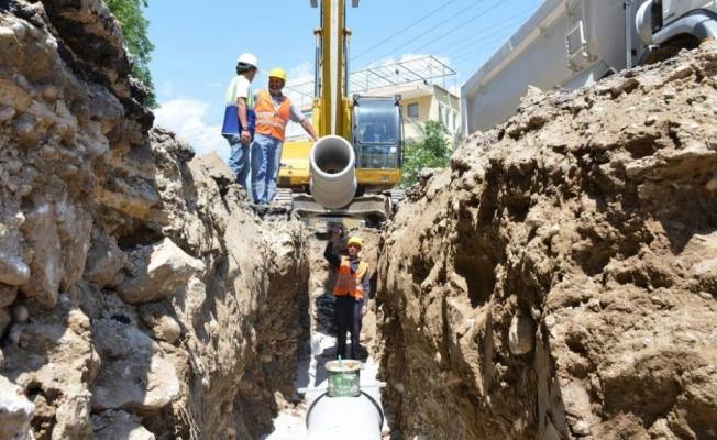 Alanya'da 32 mahalleye 80 kilometre kanalizasyon