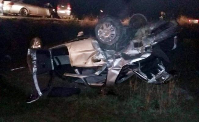 Alanya'da feci kazada 2'si ağır 3 yaralı