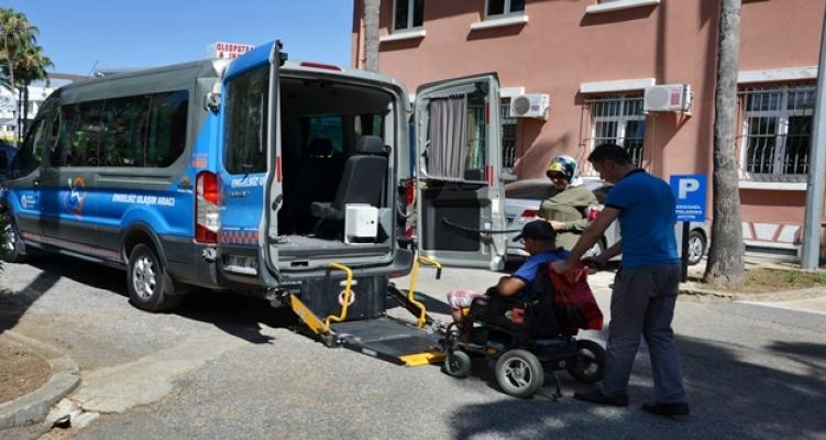 Büyükşehir'den Alanya'daki engelli vatandaşlara özel hizmet