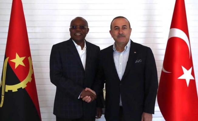 Cezayirlilerden Çavuşoğlu'na destek