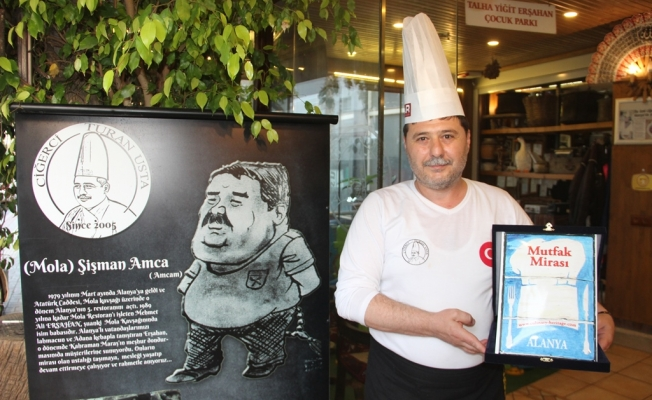 Ciğerci Turan Usta 'Mutfak Mirası'na' dahil oldu