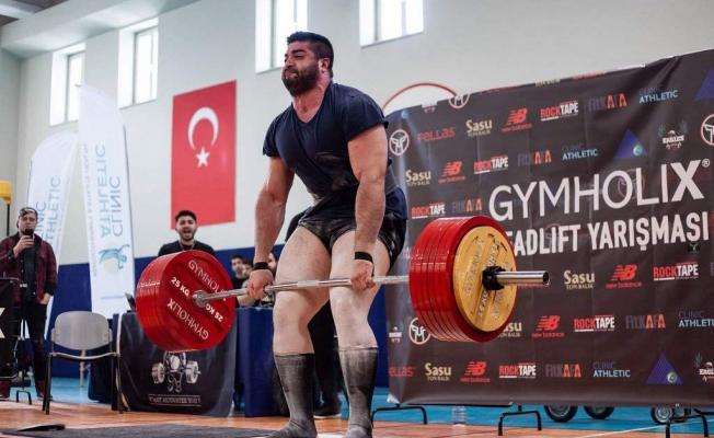 Strongman'da Türk  sporcu sürprizi