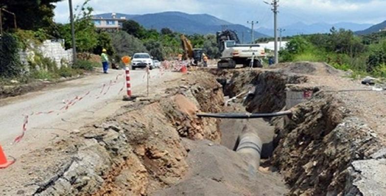 Avsallar mahallesindeki su sorunu çözüldü