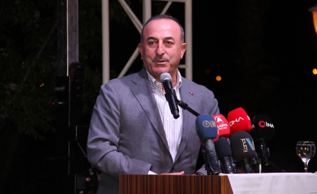 Bakan Çavuşoğlu'ndan doğalgaz müjdesi