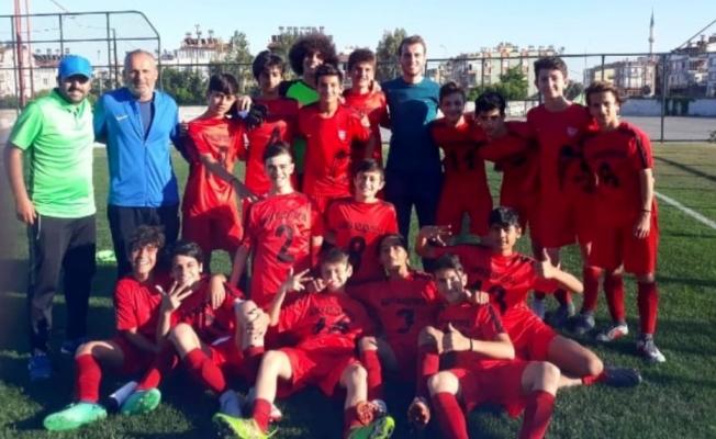 U14 Antalya Şampiyonu