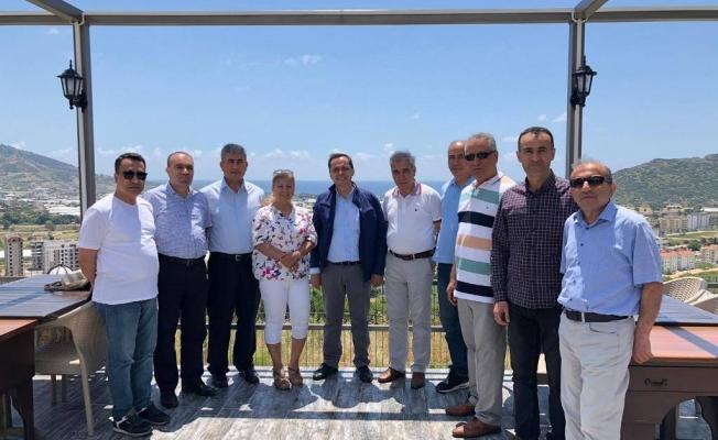 Yılmaz'a Ankara'dan ziyaret