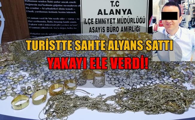 Alanya'da 20 kilo 318 gram sahte altın ele geçirildi