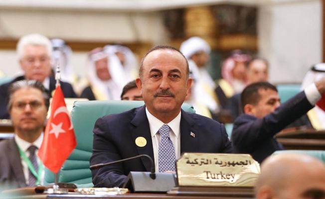 """Çavuşoğlu: """"Ümmetimiz refah için zorlu sınamalarla karşı karşıya"""""""