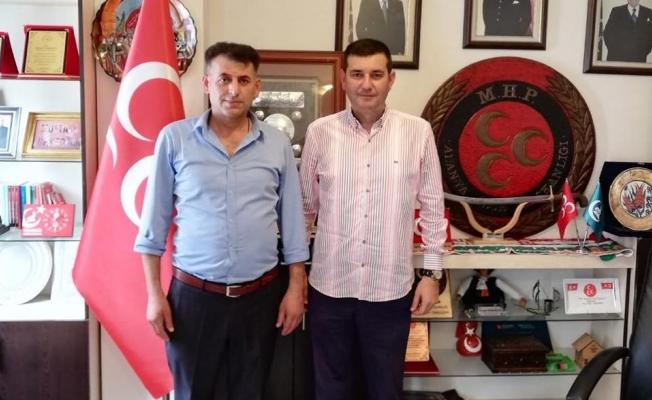 Türkdoğan'a Taşkent'ten ziyaret