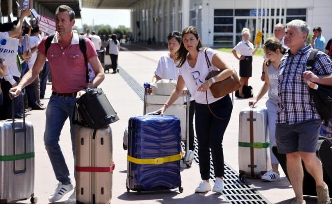 6 ayda 436 bin yolcu indi