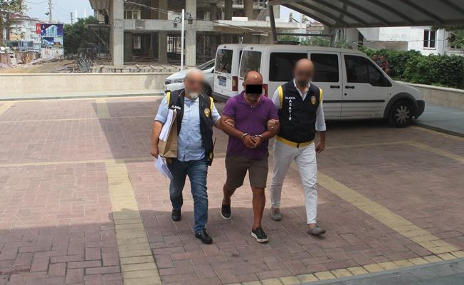 Alanya'da 5 evden hırsızlık yapan şüpheli yakalandı