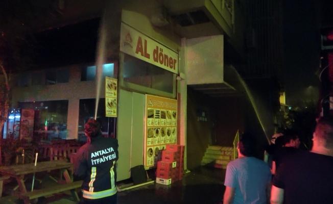 Alanya'da baca yangını mahalleyi ayağa kaldırdı!