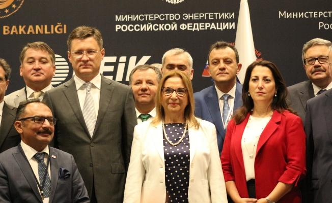 Bakan Pekcan Antalya'dan Rusya'ya çağrıda bulundu