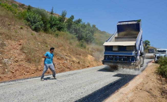 Alanya'da artık o yollar bozuk değil!