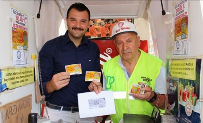 Büyük ikramiye Antalya'ya çıktı