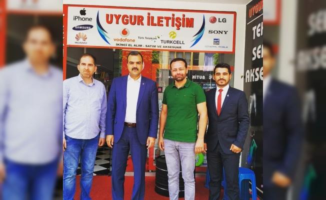 Genel Başkandan Uygur'a ziyaret