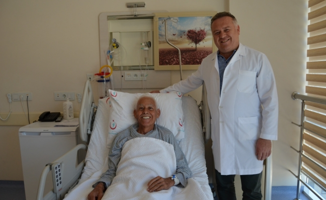 Kanser hastası şifayı ALKÜ hastanesinde buldu