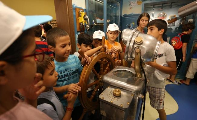 Kepez'de çocuklar çok mutlu