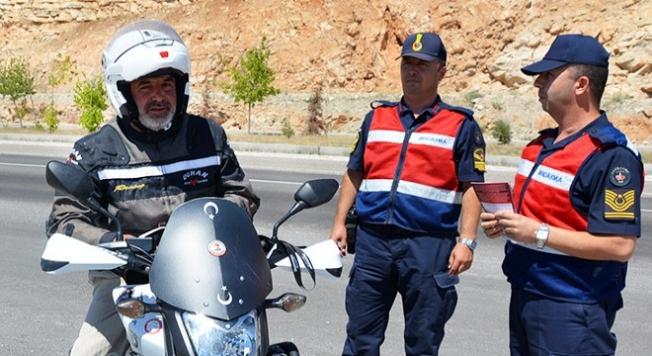 Alanya'da jandarma motosikletleri mercek altına aldı!