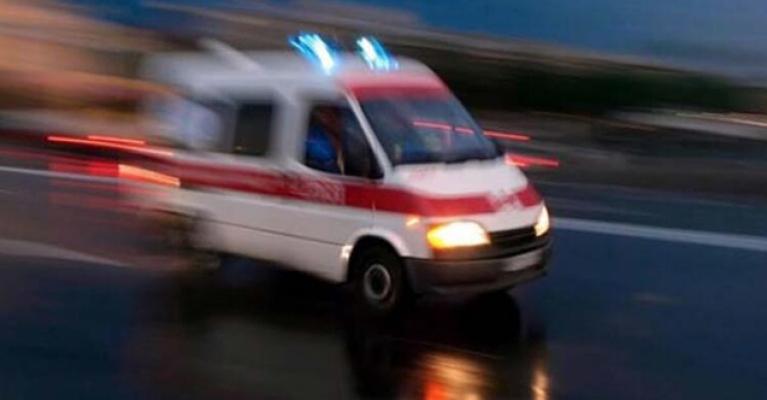 Alanya'da ayağına palet düşen market işçisi yaralandı