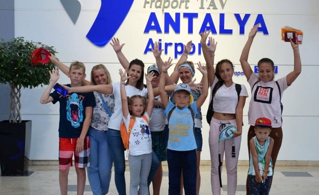 Antalya Havalimanını 7 ayda 18 milyon yolcu kullandı!