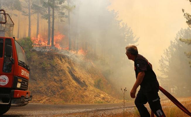 Meteoroloji'den Alanya'da orman yangını uyarısı