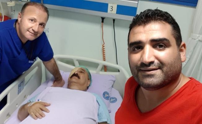 Türk Halk Müziği sanatçısı göz ameliyatı oldu