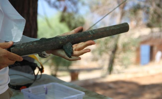 Alanya Kalesinde 16. yüzyıla ait Osmanlı tüfekleri bulundu
