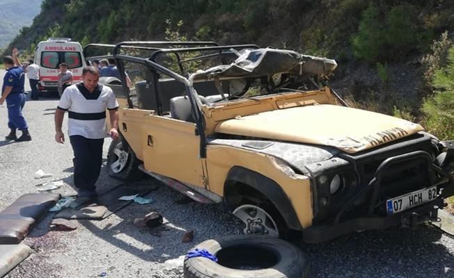 Alanya'da ölümle sonuçlanan safari kazasında şoförden şok itiraf!
