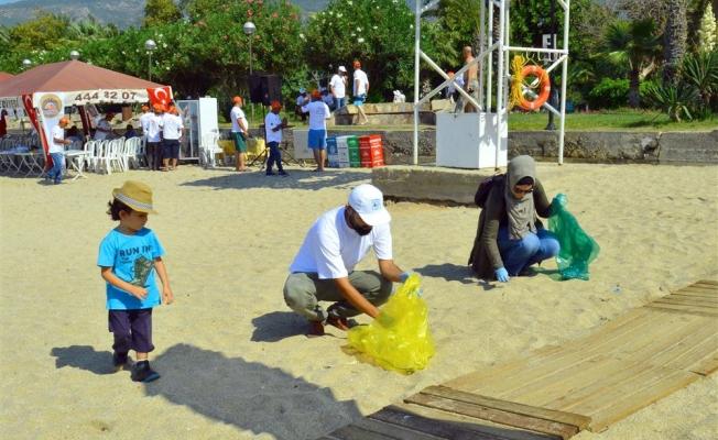 Belediye ve vatandaşlar Alanya'yı birlikte temizleyecek