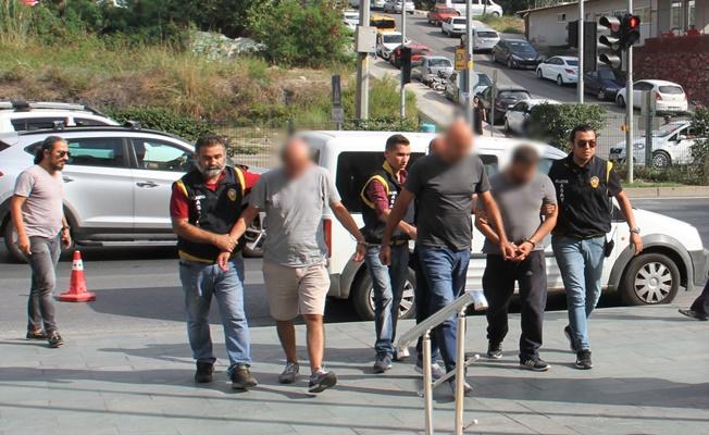 Alanya'da operasyonla yakalanan ATM faresi tutuklandı