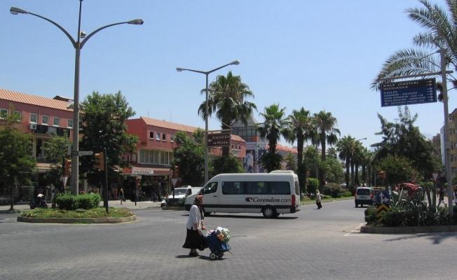Alanya'nın cadde ve sokakları ortak kullanılacak