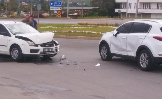 Alanya Yeni Çevre Yolu'nda yine kaza!