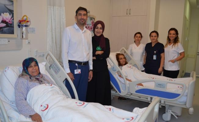 ALKÜ Hastanesi'nde 2 başarılı operasyon