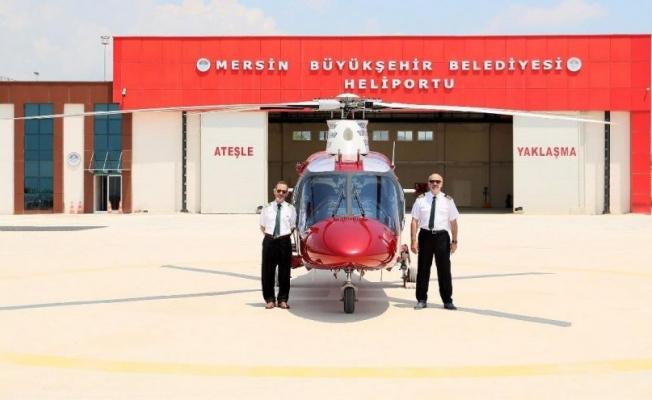 Belediyeden satılık lüks helikopter