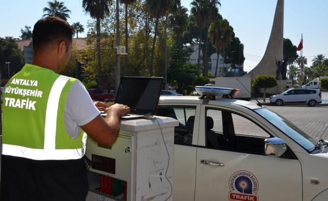 Büyükşehirden Alanya'da sinyalizasyon düzenlemesi