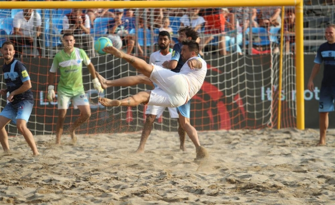 Dünya Şampiyon Kulüpler Kupası'nda Alanya Belediyespor çeyrek finalde