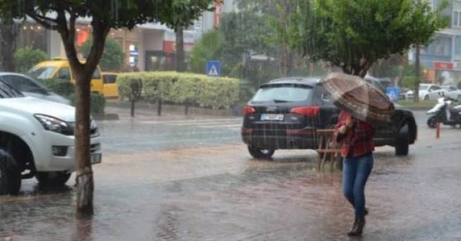 Meteoroloji'den Alanya için sağanak yağmur uyarısı!