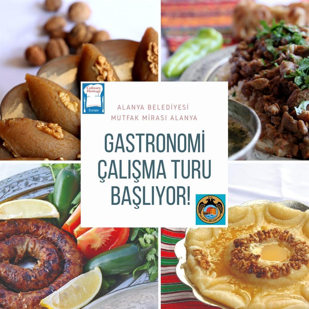 Mutfak Mirası gastronomi çalışma turu başlıyor