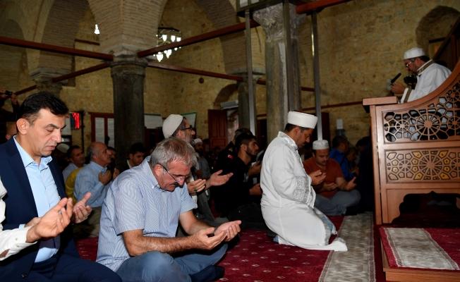 Türk ordusunun zaferi için dua okutuldu