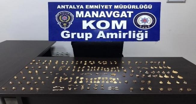 600 gram kaçak altın ele geçirildi