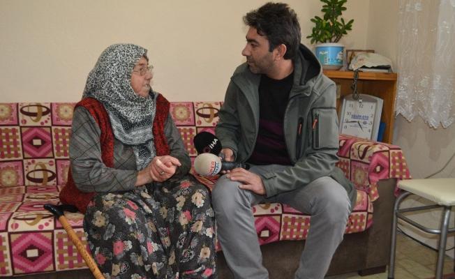 89 yaşındaki yaşlı kadının emekli maaşını çaldılar